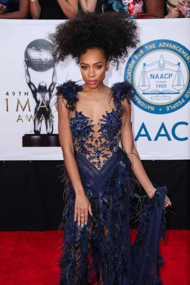 Lil Mama – 49th NAACP Image Awards in Pasadena