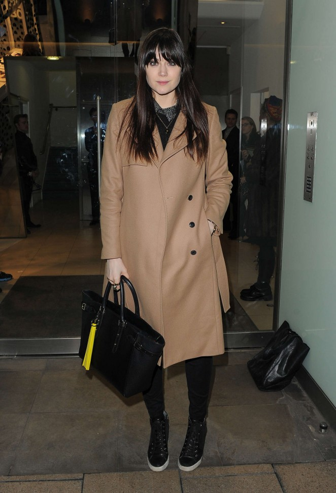 Lilah Parsons - Dior Pop-up Launch Party in London