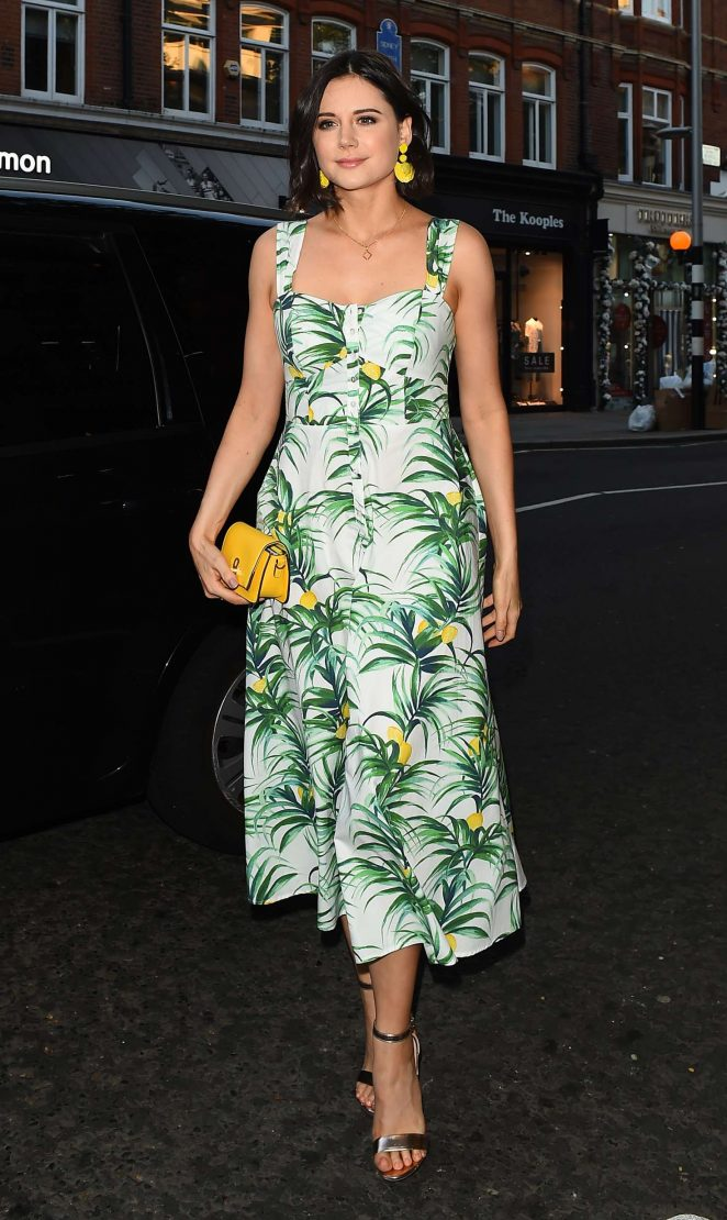 Lilah Parsons – Magnum VIP Launch Party in London