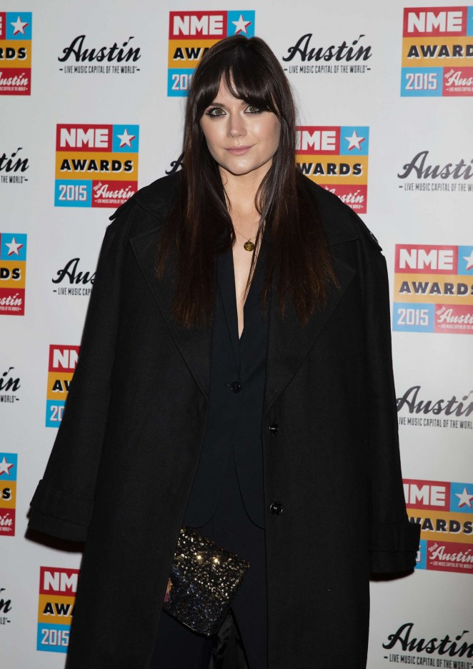 Lilah Parsons - NME Awards 2015 in London