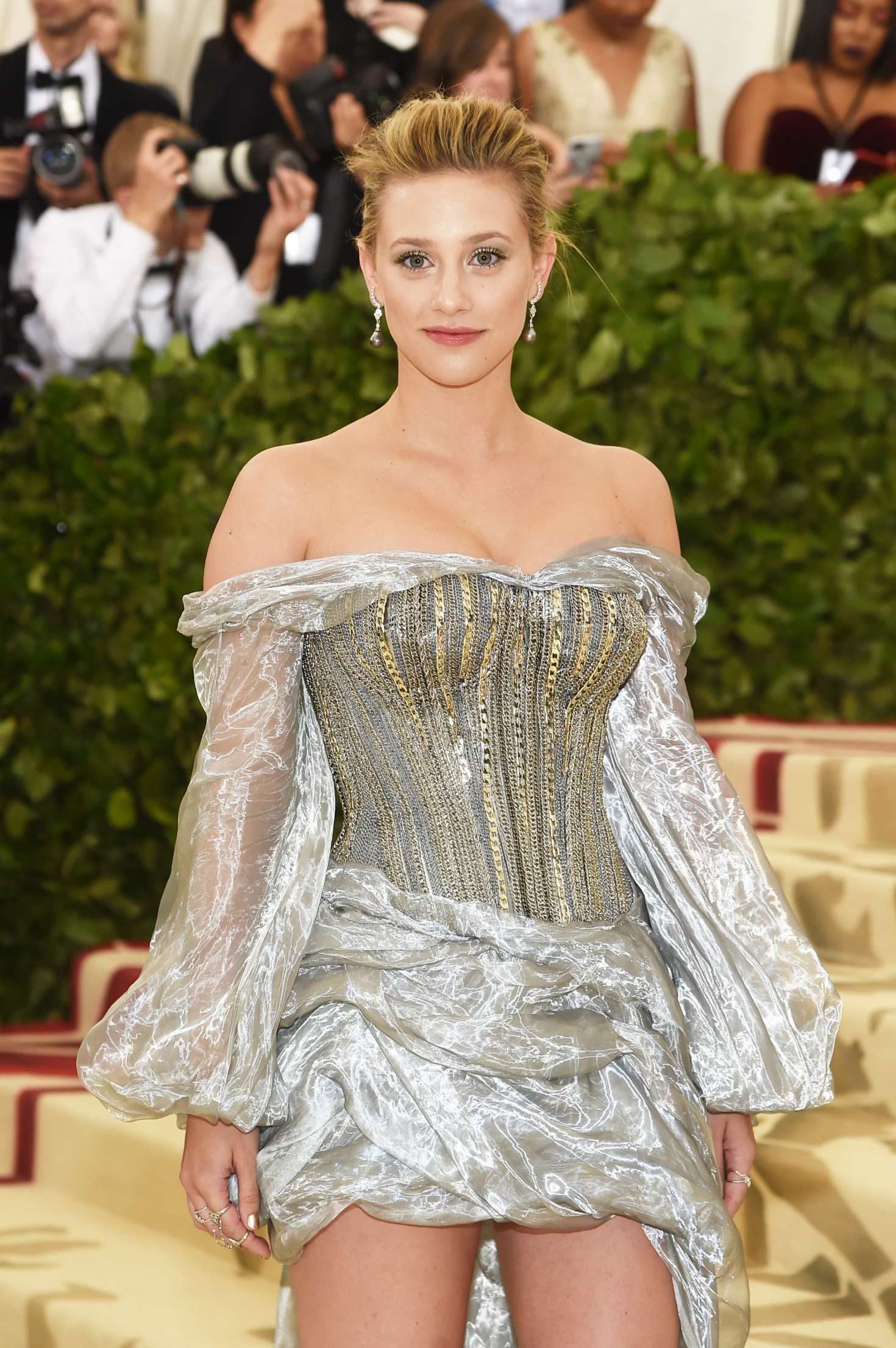 Lili Reinhart 2018 Met Costume Institute Gala In Nyc