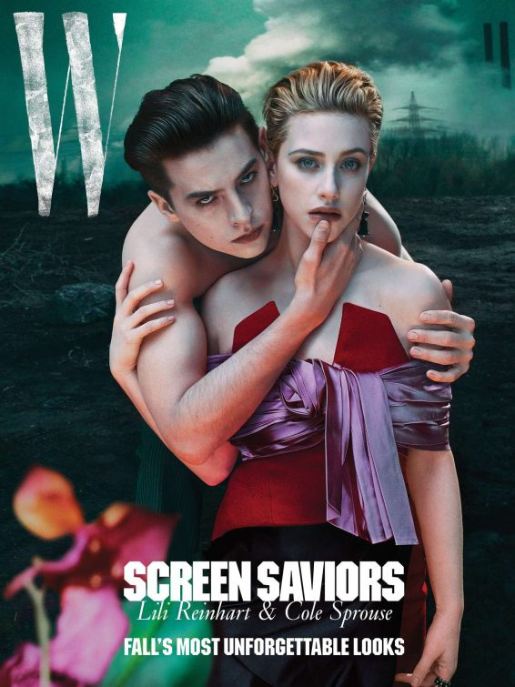 Lili Reinhart and Cole Sprouse - W Magazine July 2019