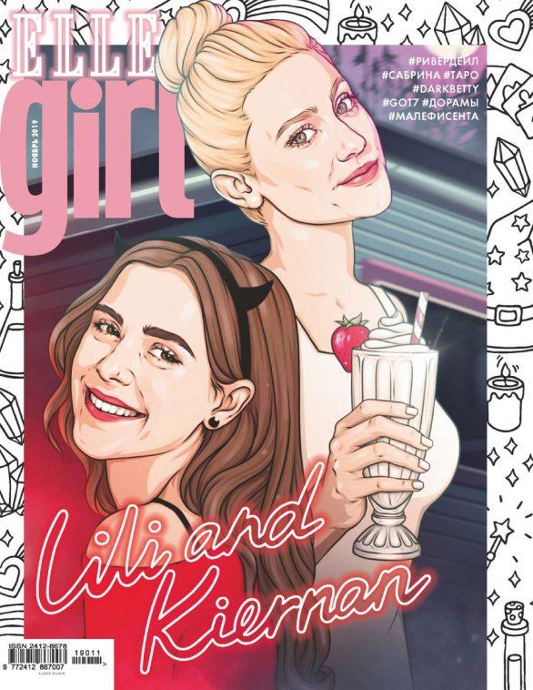 Lili Reinhart and Kiernan Shipka - Elle Girl Russia (November 2019)