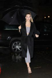 Lili Reinhart - Arrives for a private event in New York City