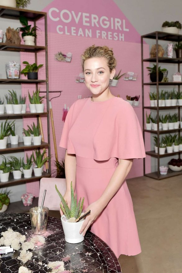 Lili Reinhart - Covergirl Clean Fresh Launch Party in Los Angeles