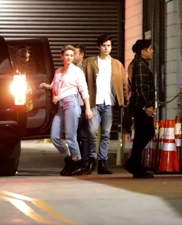 Lili Reinhart - Out for dinner in LA