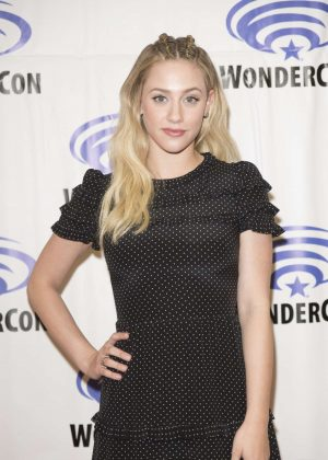 Lili Reinhart - 'Riverdale' Press Room at WonderCon in Anaheim