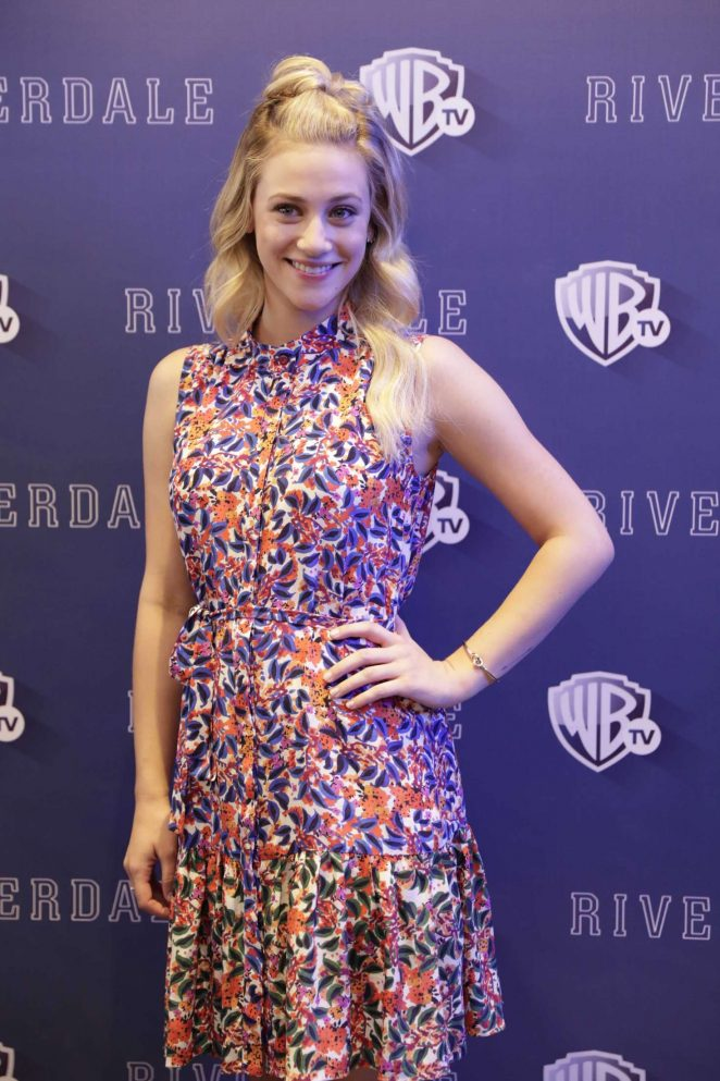 Lili Reinhart - 'Riverdale' TV Series Photocall in Mexico City