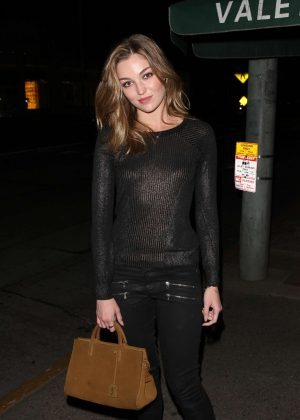 Lili Simmons at Madeo Restaurant in West Hollywood