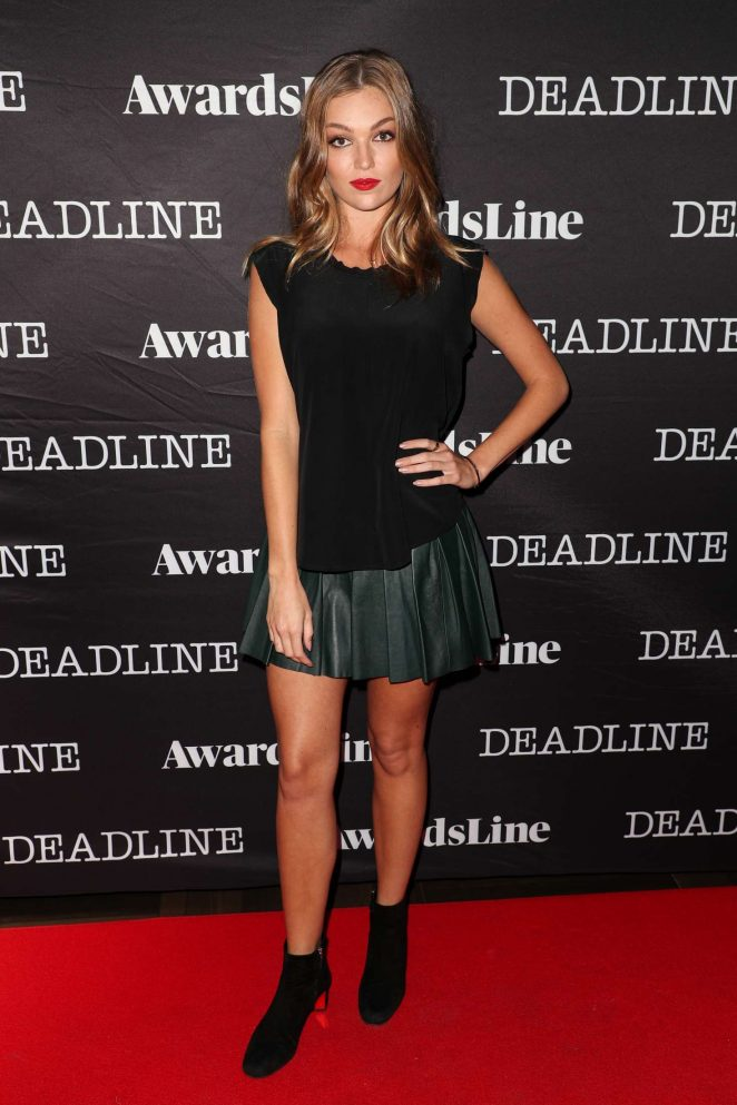 Lili Simmons – Deadline Hollywood Emmy Season Kickoff Party in LA