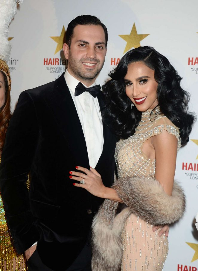 Lilly Ghalichi: HAIRtamin Goes Hollywood Event -09