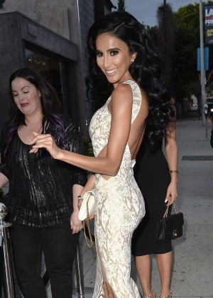 Lilly Ghalichi - Outside Bellami in West Hollywood