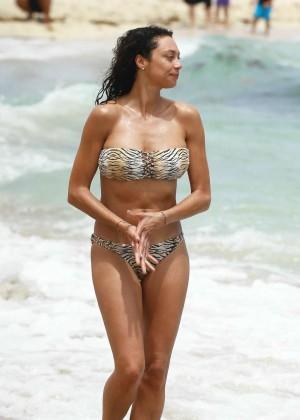 Lilly Kerssenberg in Bikini in Miami