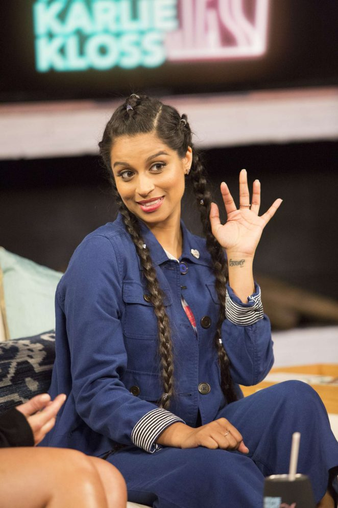 Lilly Singh – Movie Night with Karlie Kloss in NY