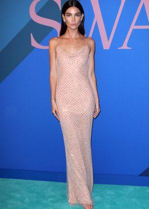 Lily Aldridge - 2017 CFDA Fashion Awards in New York