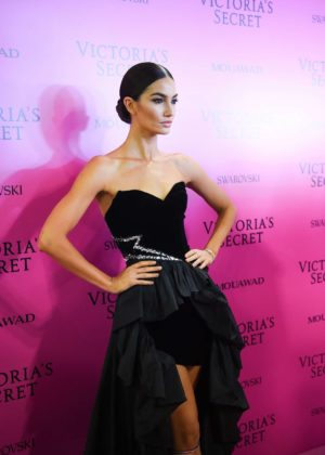 Lily Aldridge - 2017 Victoria's Secret Fashion Show After Party in Shanghai
