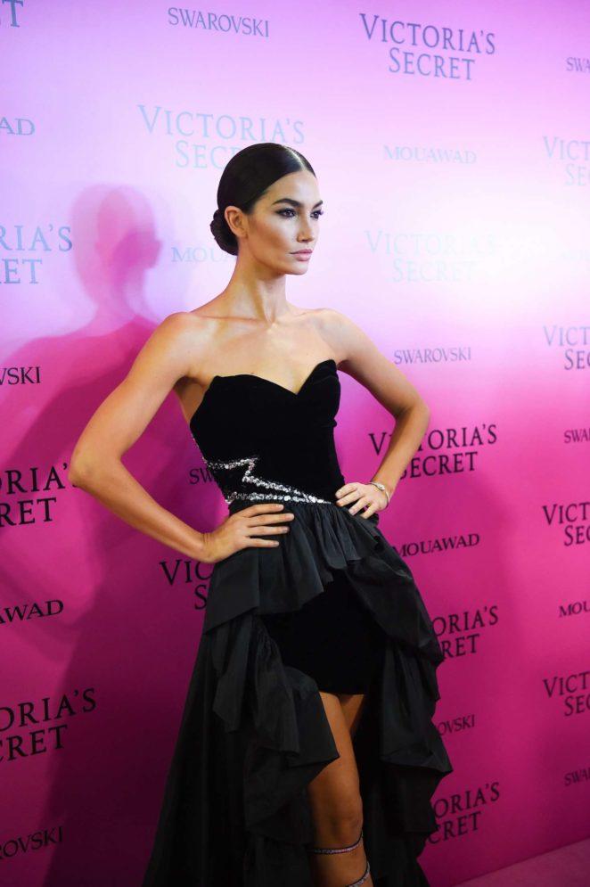 Lily Aldridge - 2017 Victoria's Secret Fashion Show After Party in Shanghai