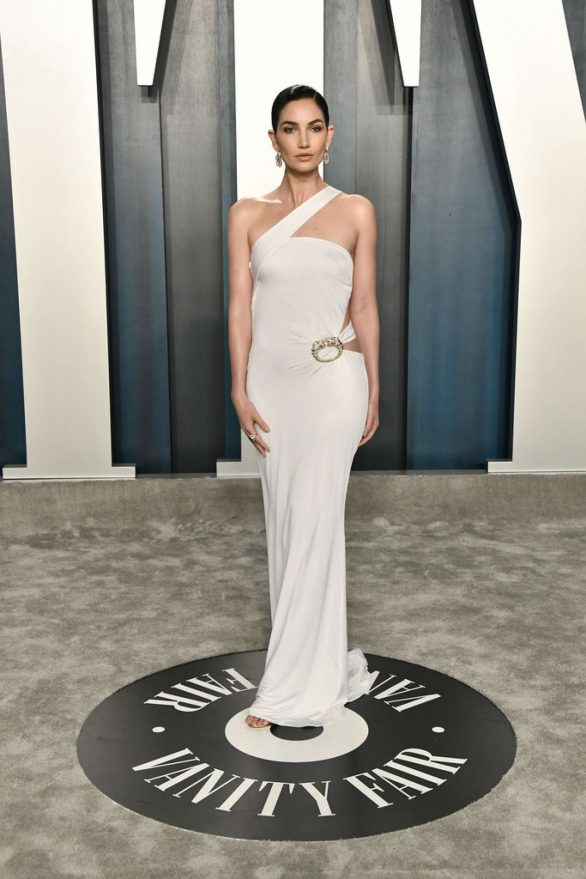 Lily Aldridge - 2020 Vanity Fair Oscar Party in Beverly Hills