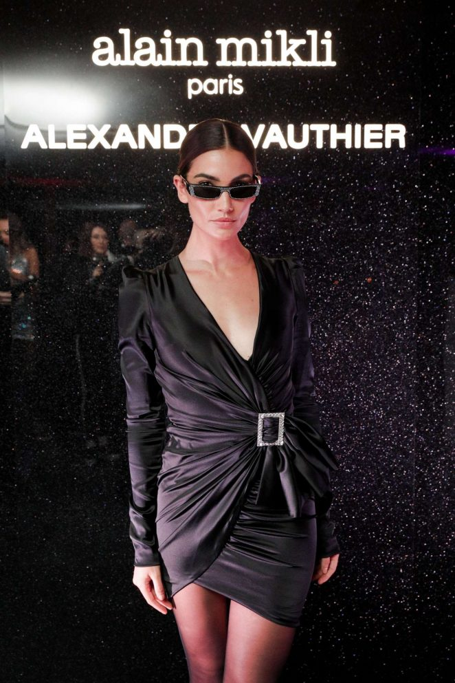 Lily Aldridge - Alain Mikli x Alexandre Vauthier Launch Party in New York