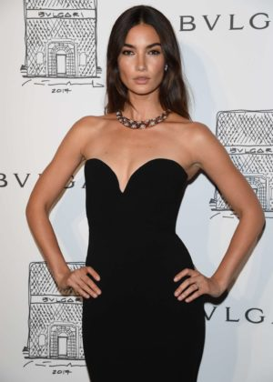 Lily Aldridge - Bulgari Flagship Store Opening Celebration in NY