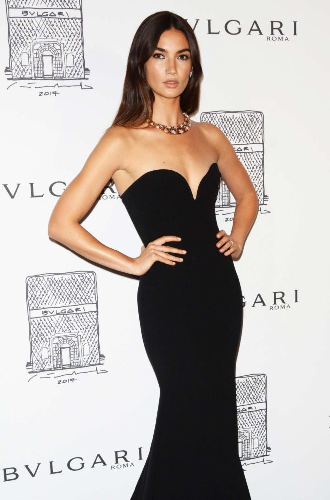 Lily Aldridge 2017 : Lily Aldridge: Bulgari Flagship Store Opening Celebration -08