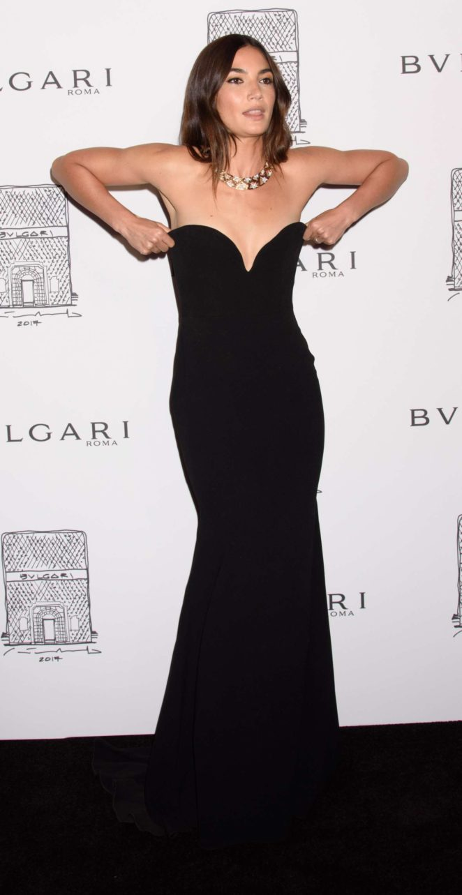 Lily Aldridge: Bulgari Flagship Store Opening Celebration -10