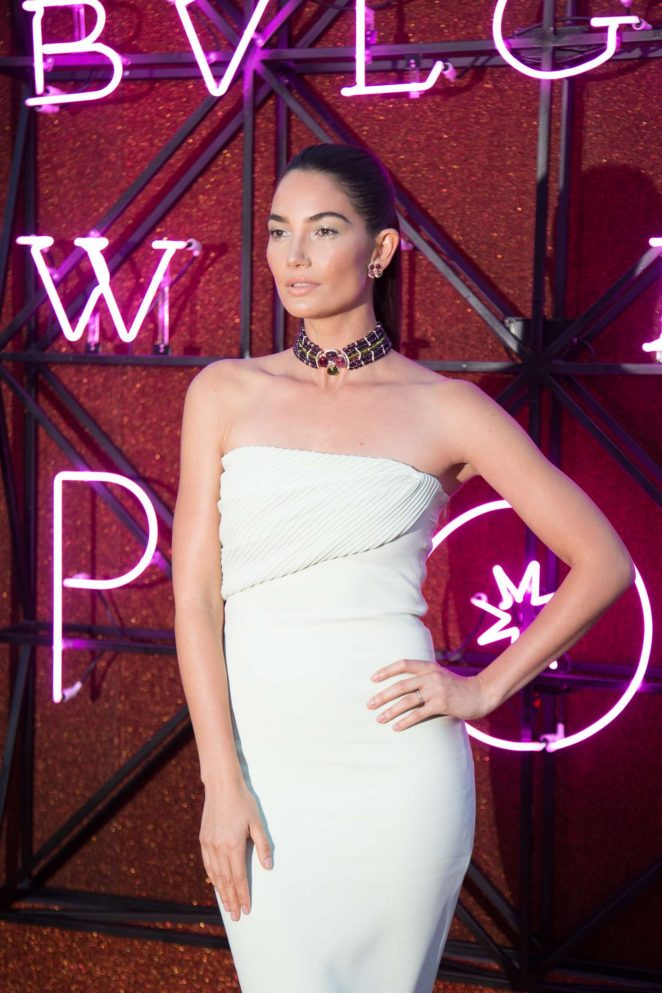Lily Aldridge - Bulgari Parade in Rome