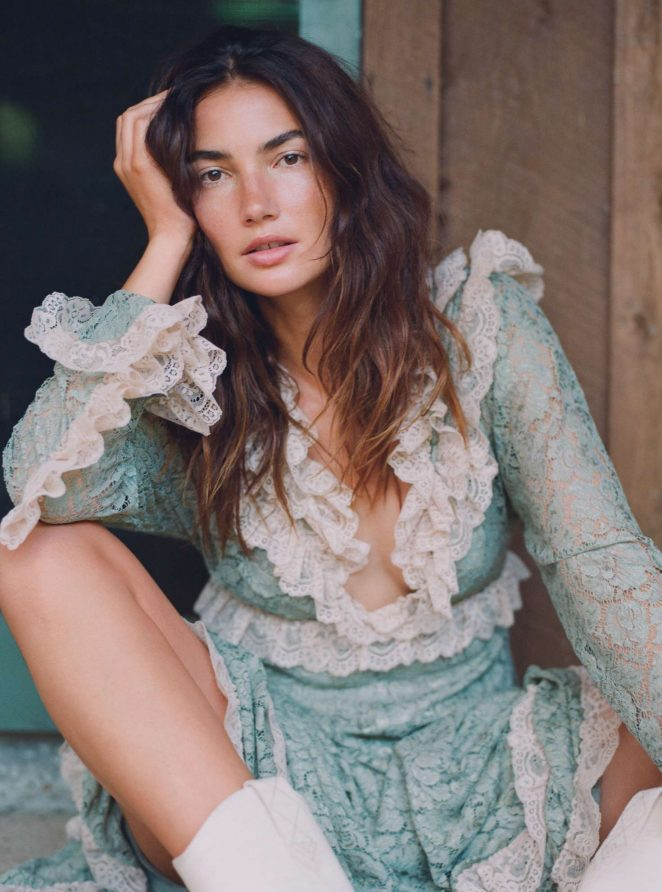 Lily Aldridge for InStyle Magazine (September 2018)