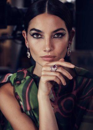 Lily Aldridge - Harper's Bazaar Arabia (December 2017)