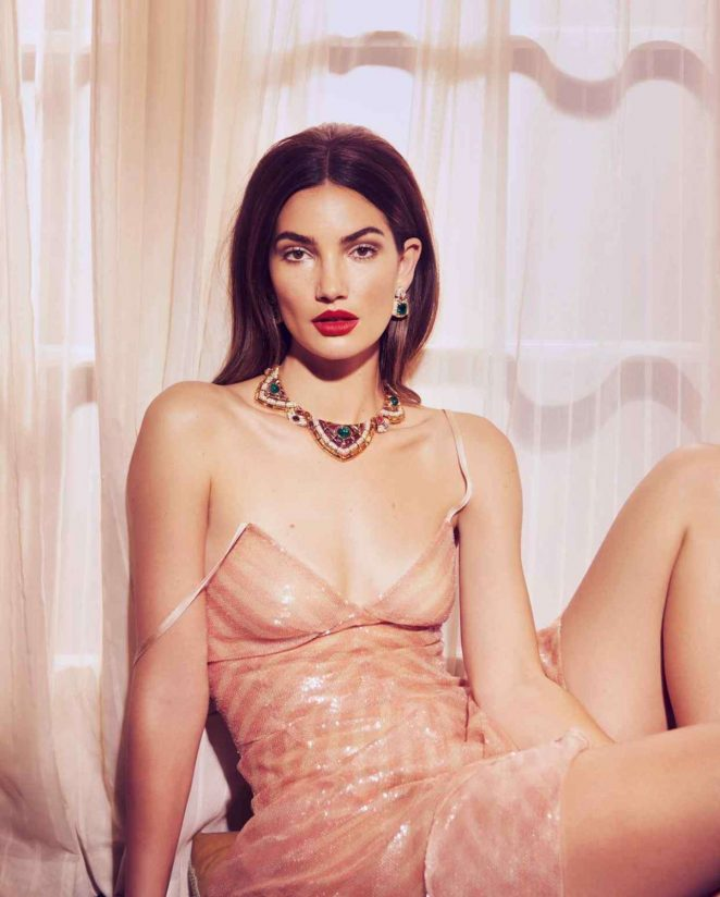 Lily Aldridge - 'How to spend it' Photoshoot for Financial Times (March 2018)