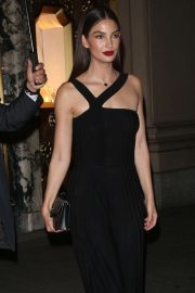 Lily Aldridge - Leaves a Bulgari Event in New York
