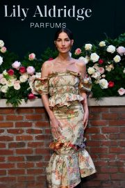 Lily Aldridge - Lily Aldridge Parfums Launch Event in NYC