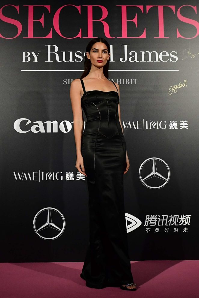 Lily Aldridge - Mercedes-Benz 'Backstage Secrets' by Russell James in Shanghai
