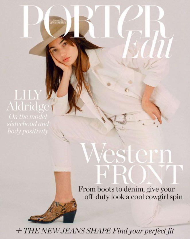 Lily Aldridge – Porter Edit Magazine (March 2018)