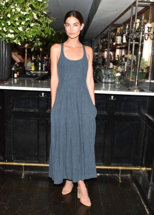 Lily Aldridge - Refinery29, CFDA & Neiman Marcus Celebrate Tabitha Simmons in NYC