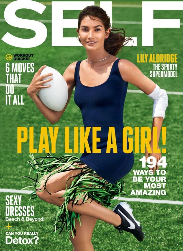 Lily Aldridge – Self Magazine (July 2015)