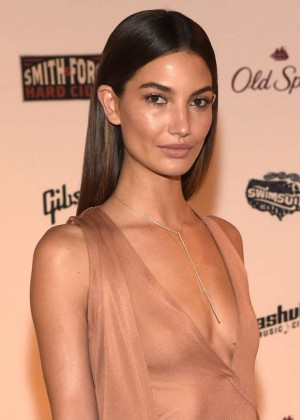 Lily Aldridge - SI 2015 Swimsuit Takes Over the Schermerhorn Symphony Center in Nashville