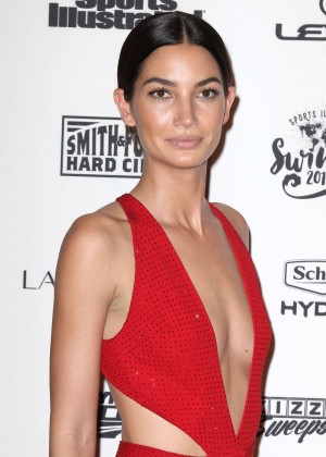 Lily Aldridge - Sports Illustrated Celebrates Swimsuit 2016 VIP Red Carpet Event in NY