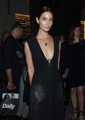 Lily Aldridge - The Daily Front Row Third Annual Fashion Media Awards in NYC