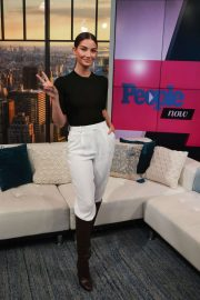 Lily Aldridge - Visits People Now in New York