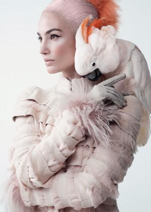 Lily Aldridge - Vogue Photoshoot (October 2015)