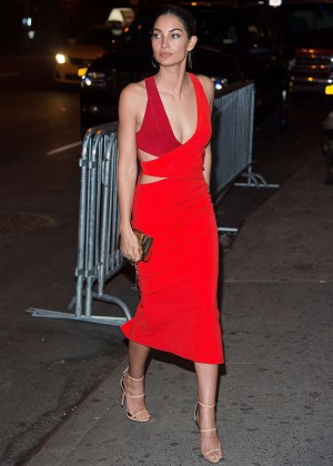 Lily Aldridge - VS Swim Special 2016 Viewing Party in New York