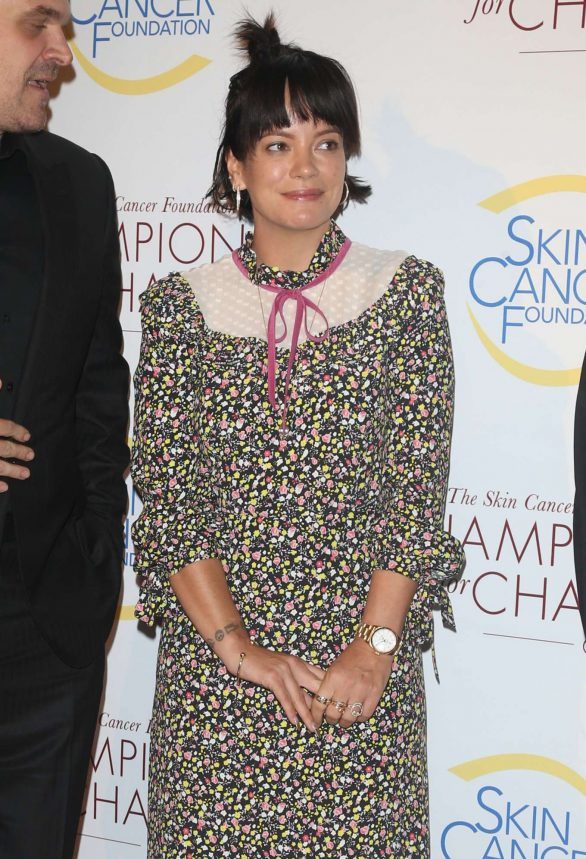 Lily Allen - 2019 Champions for Change Gala in New York