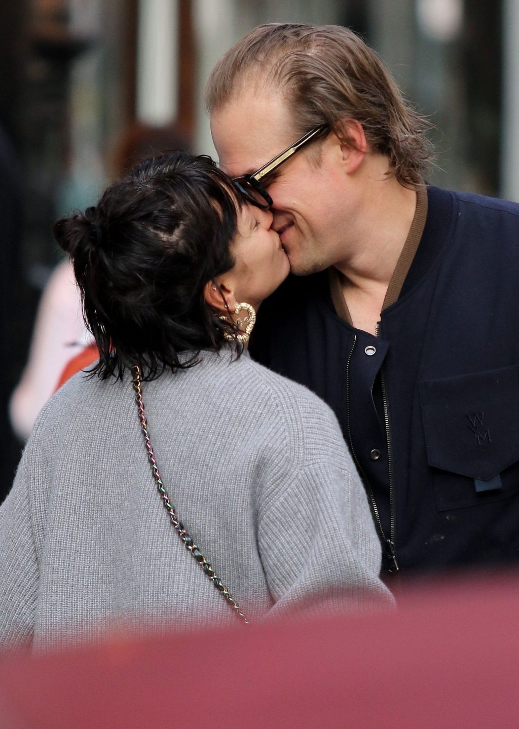 Lily Allen 2019 : Lily Allen and David Harbour show major PDA in Manhattan-01