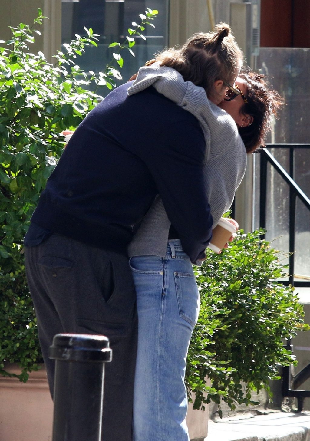 Lily Allen 2019 : Lily Allen and David Harbour show major PDA in Manhattan-04