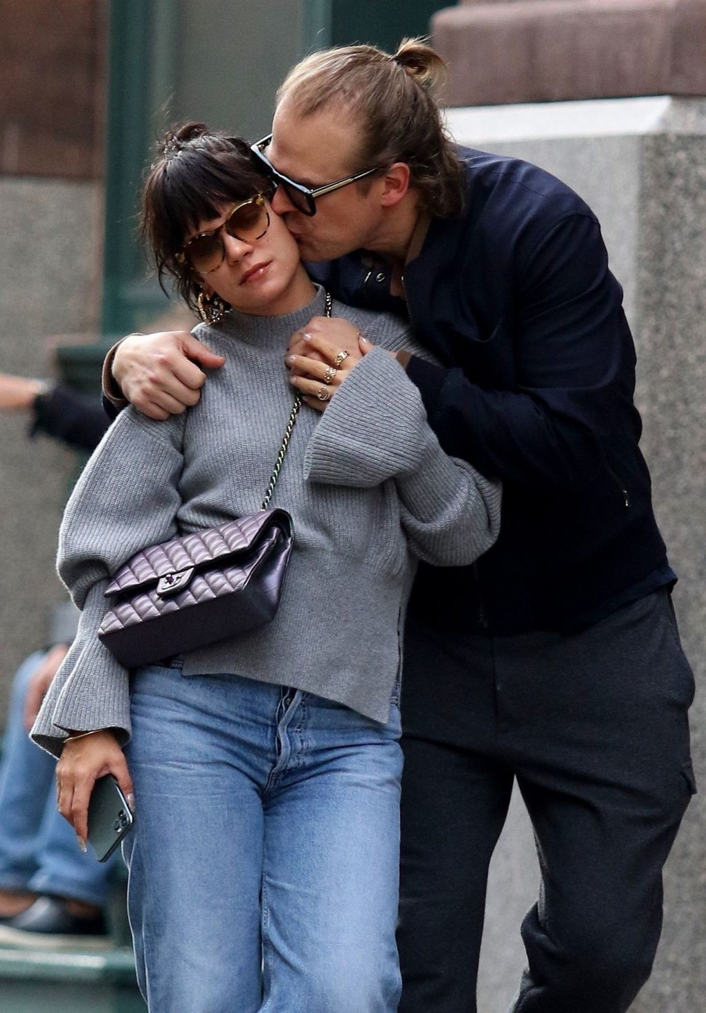 Lily Allen 2019 : Lily Allen and David Harbour show major PDA in Manhattan-16
