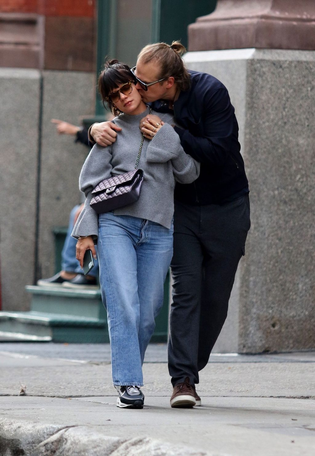 Lily Allen 2019 : Lily Allen and David Harbour show major PDA in Manhattan-17