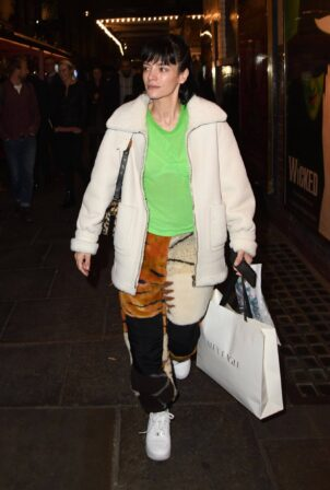 Lily Allen - Appearing on the West End theatre production of 2:22 A Ghost Story in London