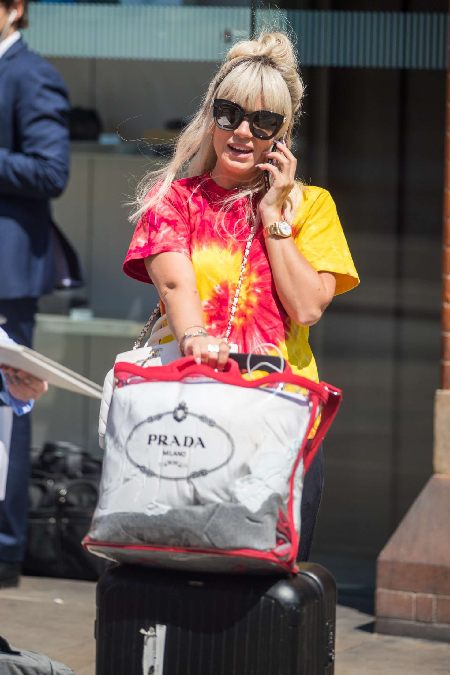 Lily Allen 2018 : Lily Allen: Arriving back in London -05