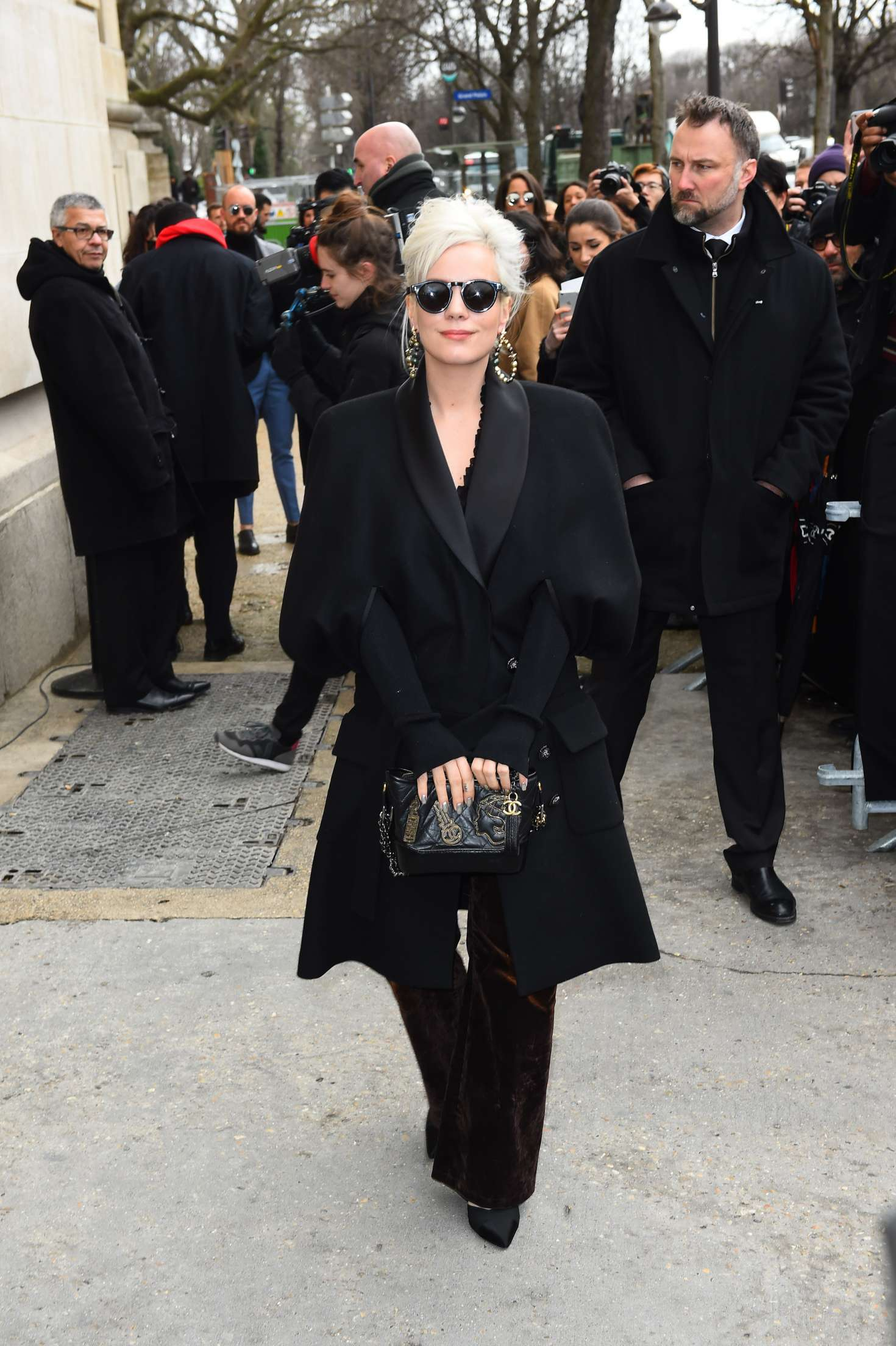 Lily Allen 2017 : Lily Allen at Chanel Show 2017 in Paris -08